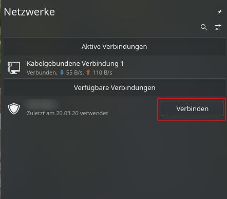 OpenVPN Client KDE: Verbindung aufbauen