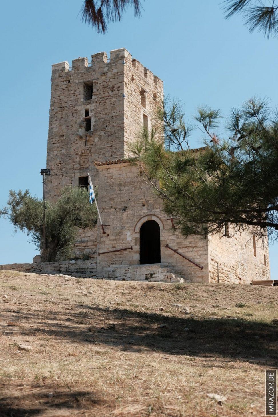 Néa Fokéa - Wachturm