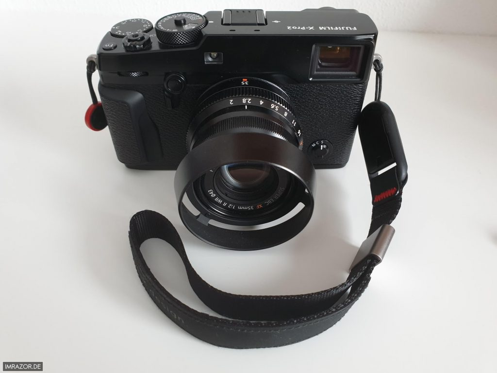 Peak Design Cuff an Fujifilm X-Pro2