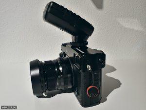 Blitzen mit Fujifilm X