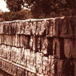Chichén Itzá - Tzompantli -Schädelplattform