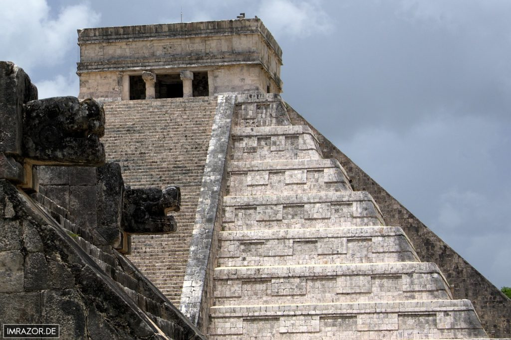 Chichén Itzá - Kukulkan Pyramide