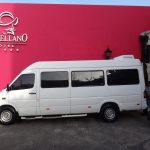 Mérida - El Castellano und Reisebus