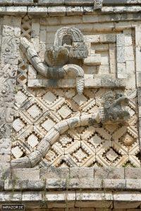 Uxmal - Klapperschlange