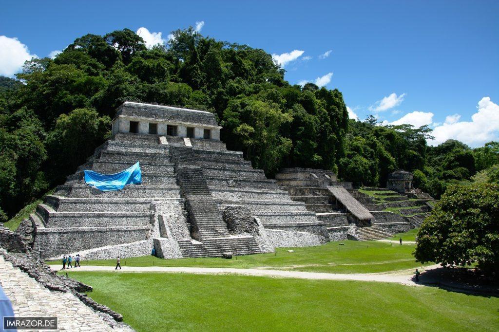Palenque - Tempel der Inschriften