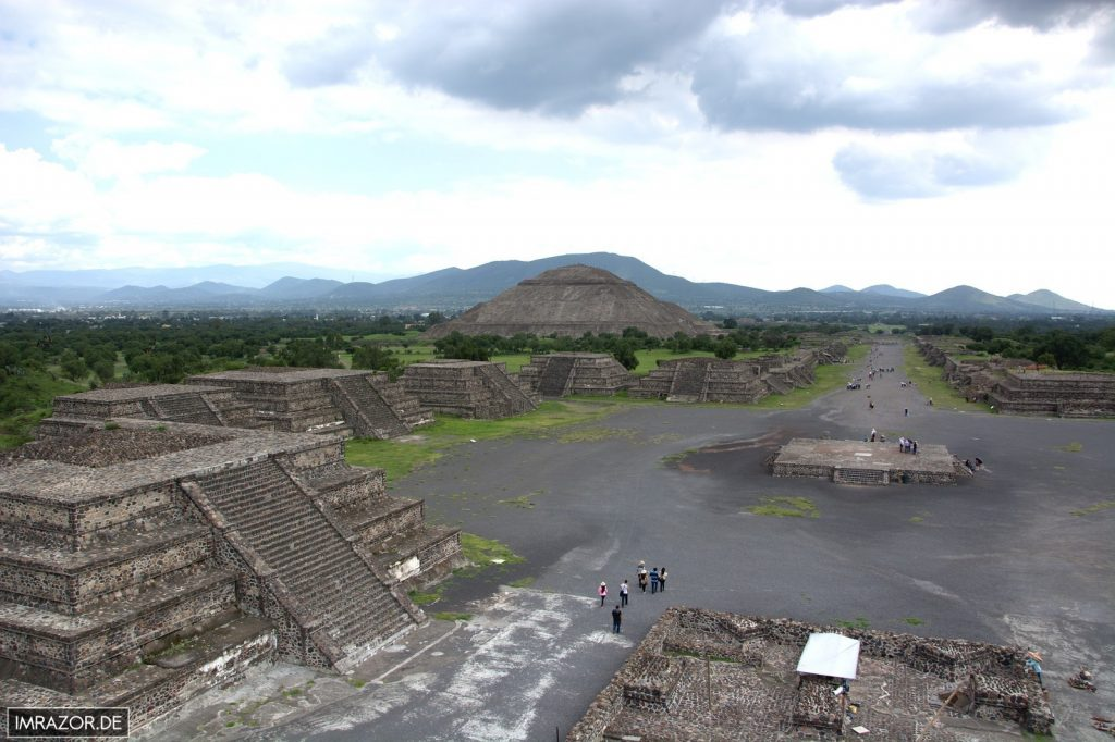 Teotihuacán - Straße der Toten