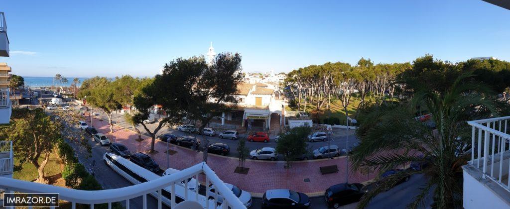 Playa de Palma vom Hotel aus gesehen