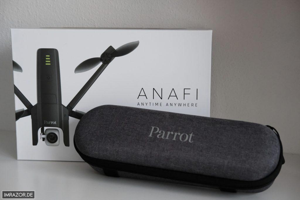 Parrot Anafi - schönes und funktionales Transportcase