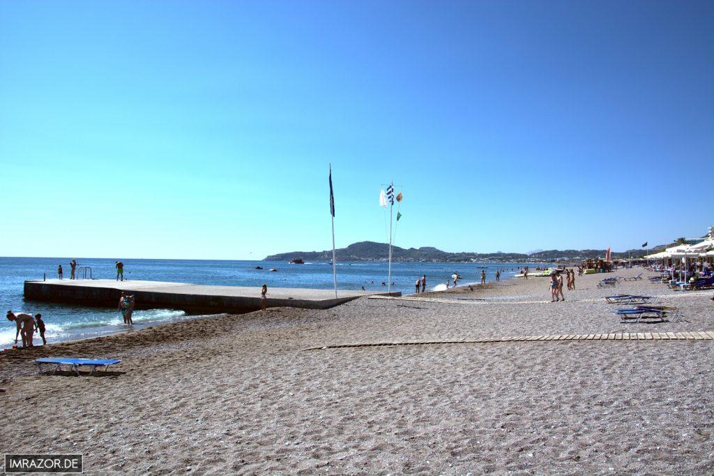 Faliraki - Strand