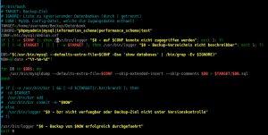 Automatisierte Sicherung einer Webseite unter Linux