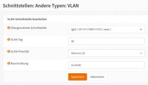 OPNSense: VLAN einrichten